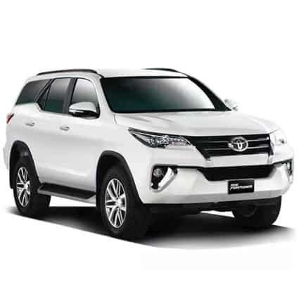 sewa fortuner di puri bali car rental